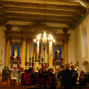 Mission San Buenaventura Interior