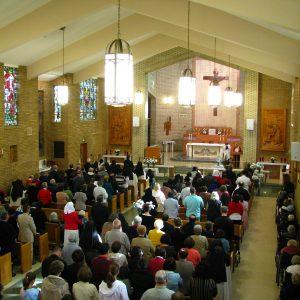 St. Joseph Chapel Interior